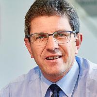 Erich Fehr, président de la ville
